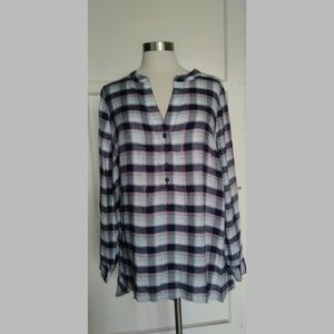 Lane Bryant long sleeve women's flannel